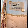 """Seaside Memories"" an altered book album"