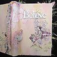 """Believe"" an altered book album"