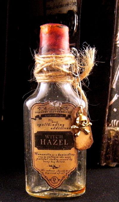0011 2 for Halloween medicine bottles