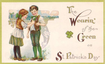Free vintage St. Patricks image