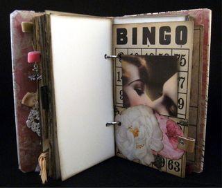 Vintage bingo card front