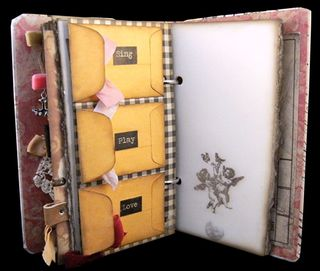 Journal divider 4 back