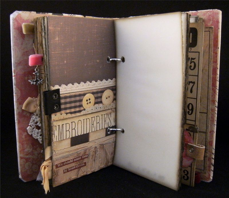 Journal divider 3 back