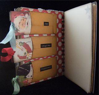 Merry Divider 4 Backside Coin Envelopes