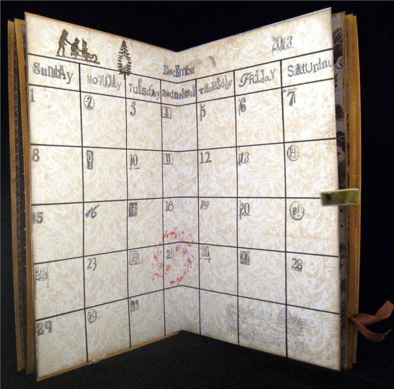 Planner pages 5 and 6 Calendar