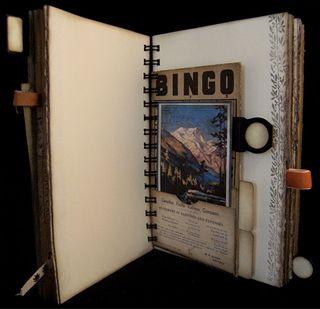 Vintage Bingo Pocket Page