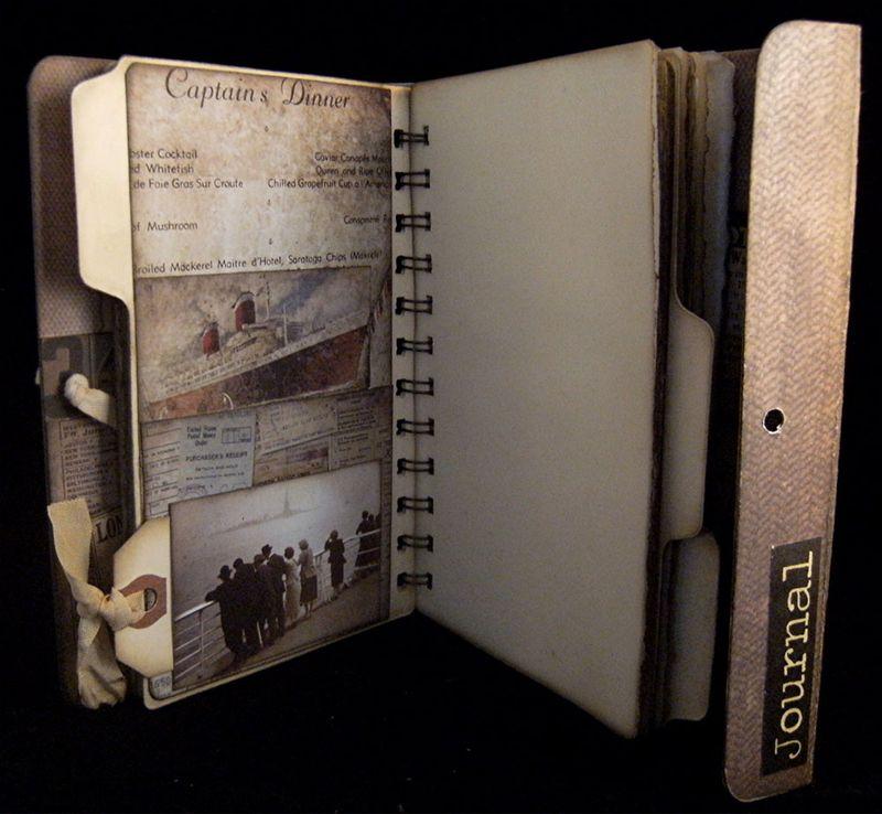 Portfolio Journal Divider 2 Back