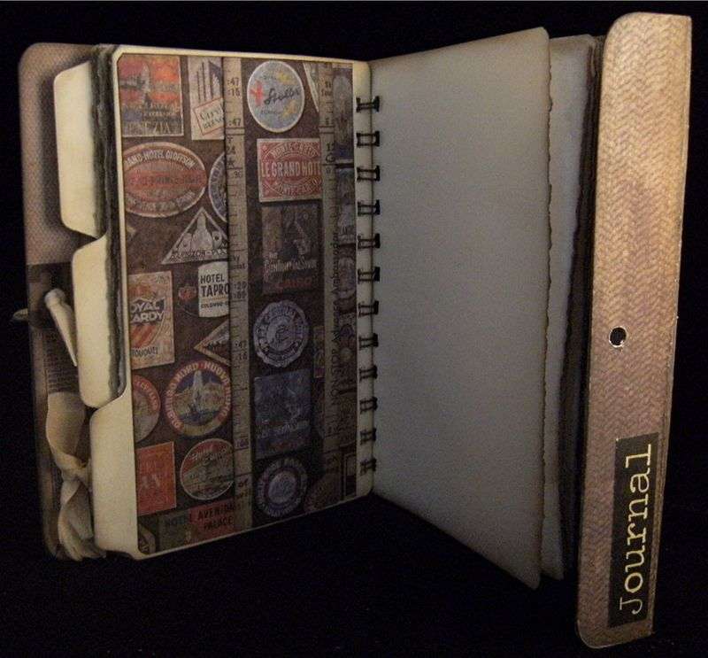 Portfolio Journal Divider 4 Back