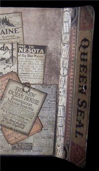Portfolio Journal Inside Back Flap