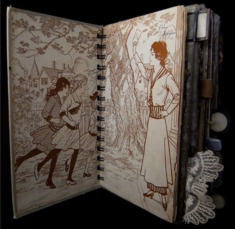 Inside Cover End Papers