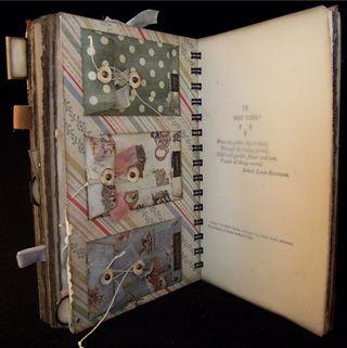 Baby Journal Divider 4  Backside