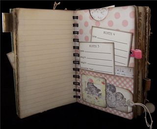 Baby Girl Journal Divider 2