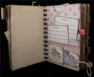 Baby Girl Journal Divider 2
