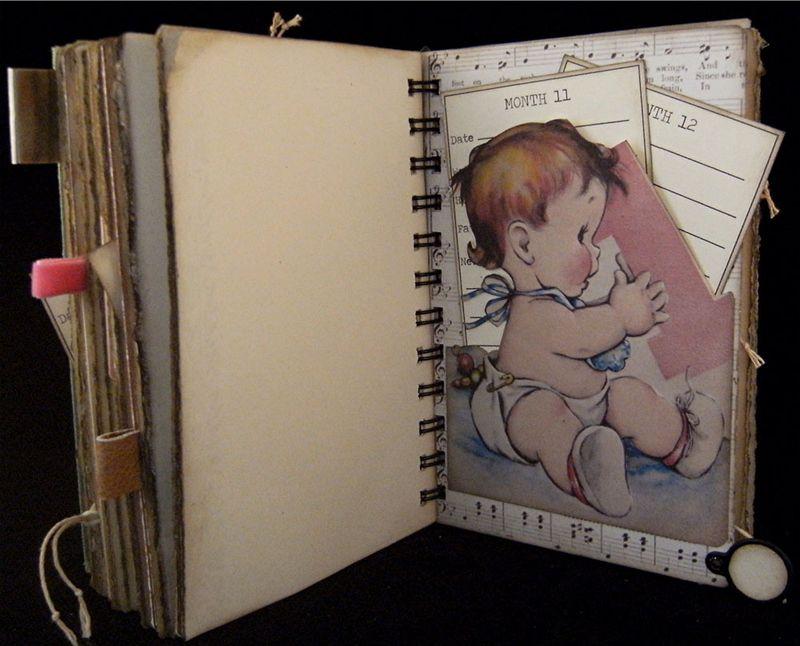 Baby Girl Journal Divider 4