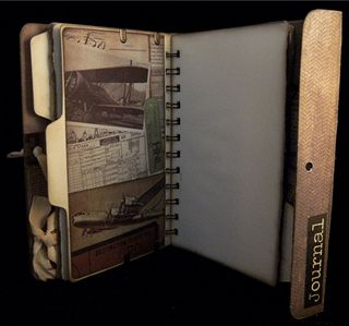 Portfolio Journal Divider 3 Back