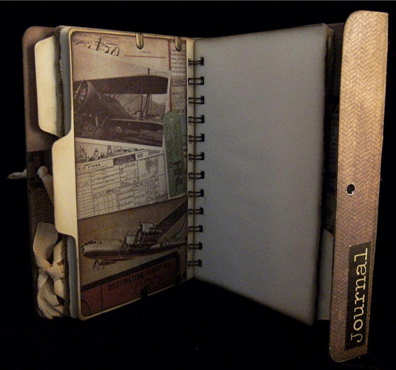 Portfolio Journal Divider 3 Back
