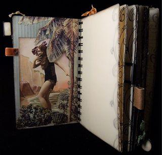 Travel Journal Rolling Ocean Divider 2 Backside