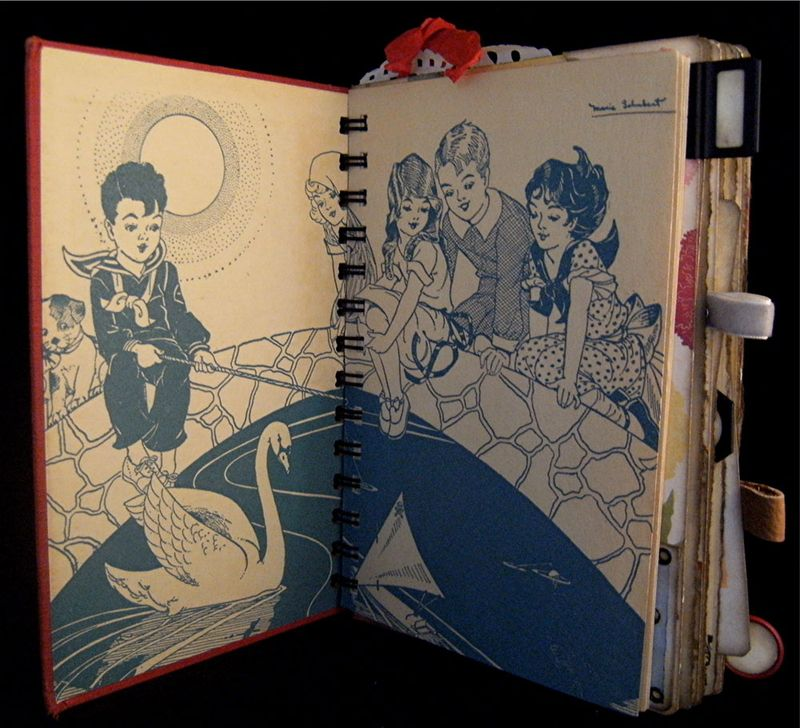 The Story Of A Girl Inside Cover and End Paper