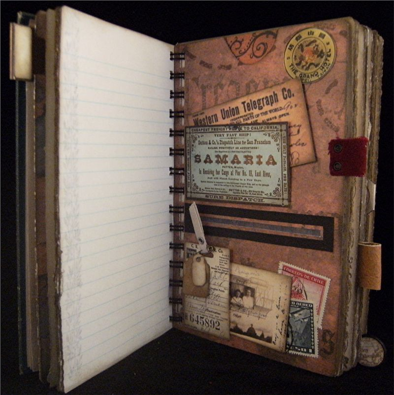 Travel Journal Treasure Divider 2