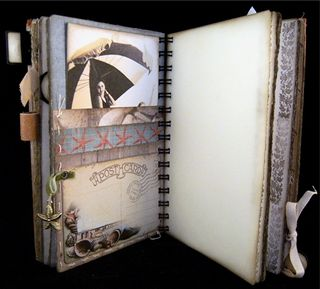 Travel Journal Escape Divider 3 backside