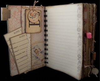 Baby Girl Journal Divider 1 Backside