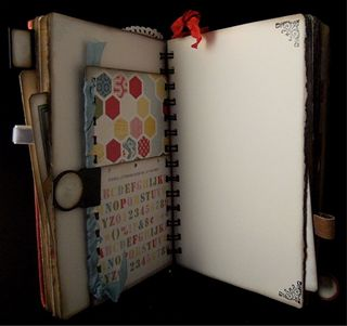 The Story Of A Girl Vintage Bingo Card Backside