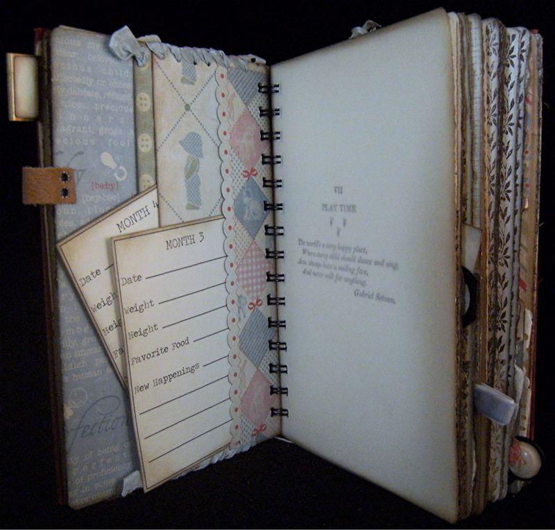 Baby Journal Divider Backside