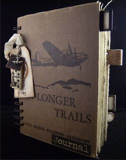 Travel Journal Longer Trails StoryBook Cover