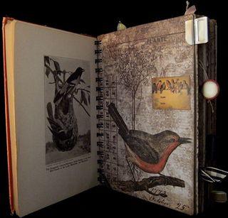 Travel Journal Divider 1 Meadow Wings