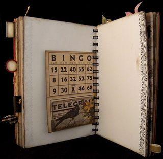 Vintage Bingo Card Backside