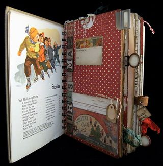 Christmas Journal Divider 1