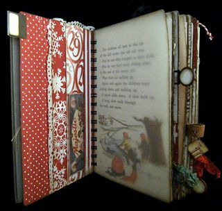 Christmas Journal Divider Backside