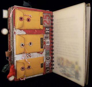 Christmas Journal Divider 4 Backside
