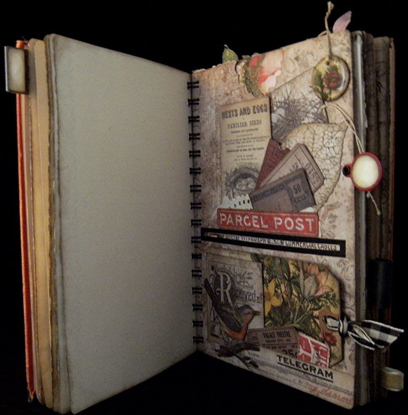 Travel Journal Divider 2 Meadow Wings