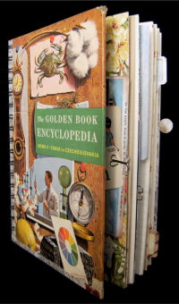 Golden Books Encyclopedia Beach Journal