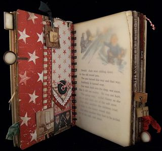 Christmas Journal Divider 2  Backside