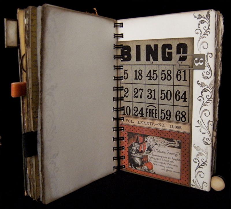 1930 Bingo Card Pocket