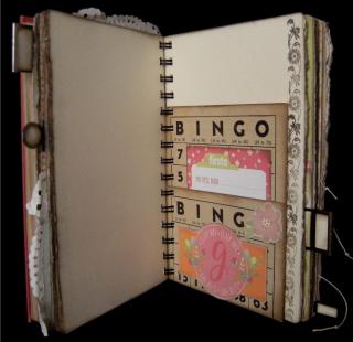1930 Bingo Card front