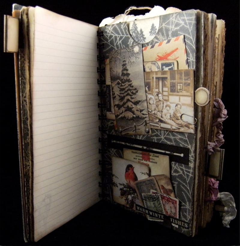 Winter Journal Divider 2 Front