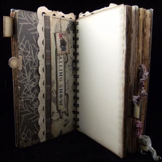 Winter Journal Divider 2 Backside