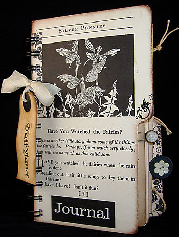 """""""FairyLand"""" Created Using Pages From A 1932 Childrens Poetry Book."""